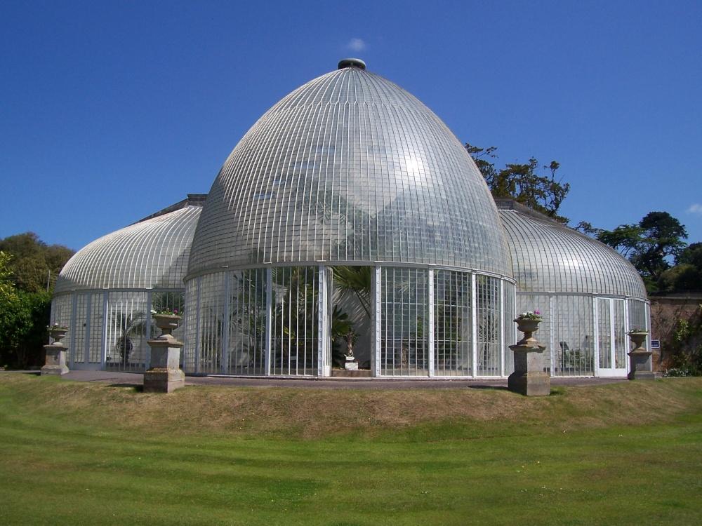 The Palm House a Bicton Garden (Exeter).
