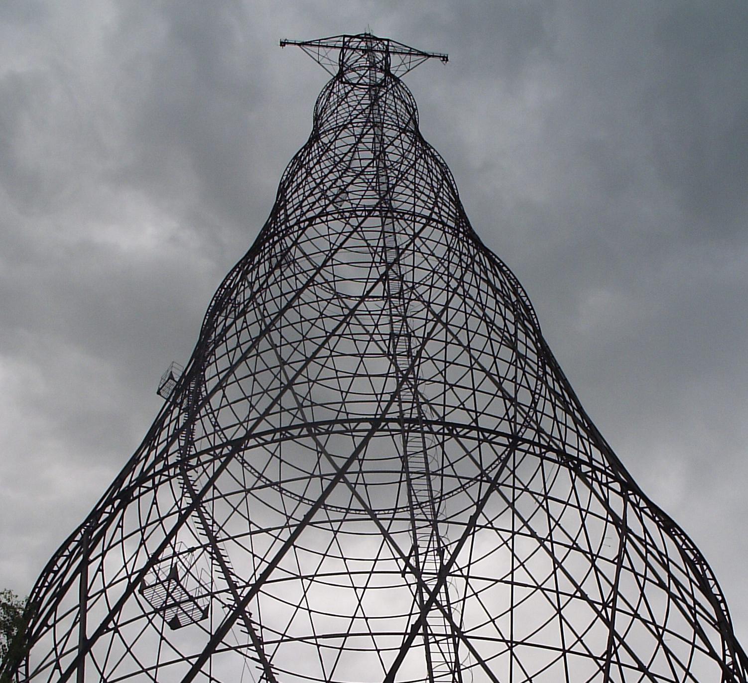 Torre a l'Oka River a Rússia.