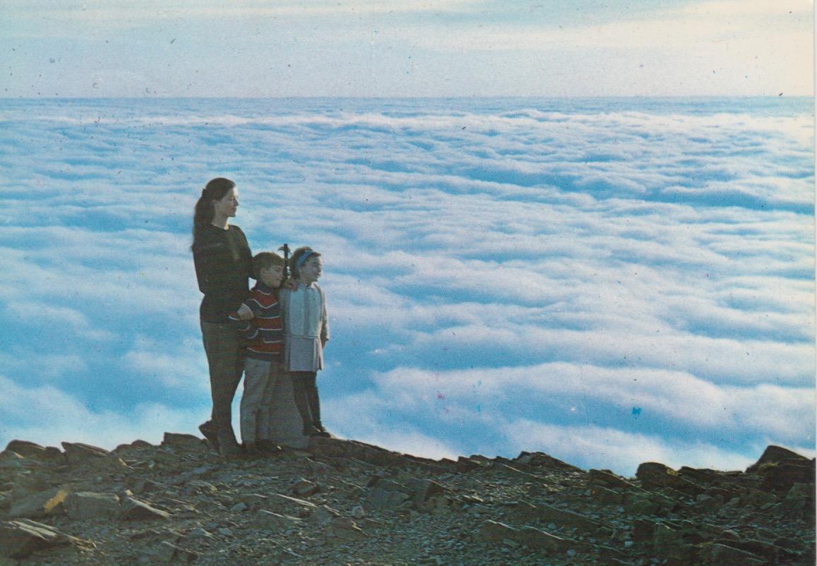 Mar de núvols des del Turó de l'Home. Ed. Fiter. 1966.