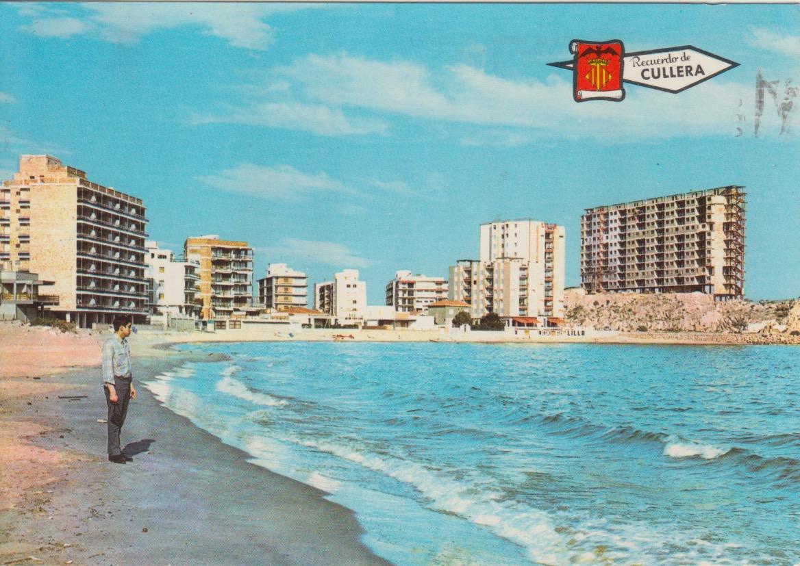 Imatge de la Platja Faro, Cullera a l'any 1967.