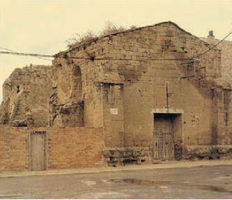 Imatges de l'estat de les ruïnes abans de la intervenció.