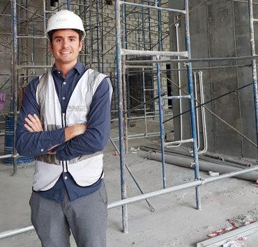 Imagen del aparejador Rubén Fernández